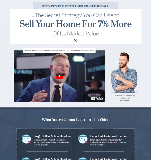 Clickfunnels Sales Letter Templates